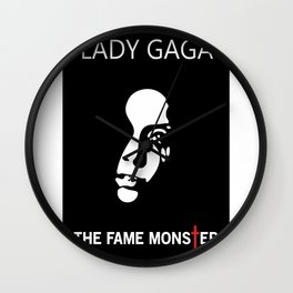 The Fame Monster Wall Clock