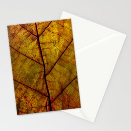 Autumn Leaf #01 Stationery Cards