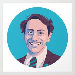 Queer Portrait - Harvey Milk Art Print