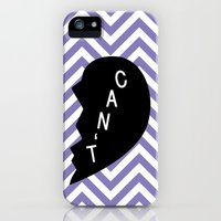 Can't iPhone (5, 5s) Slim Case