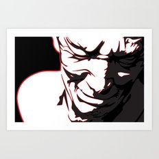 Anguish Art Print