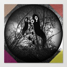 1000 days in the woods II Canvas Print