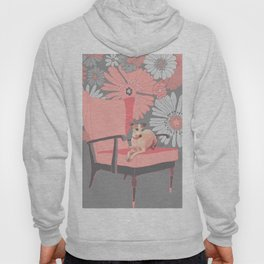 Dog in a chair #3 Italian Greyhound Hoody