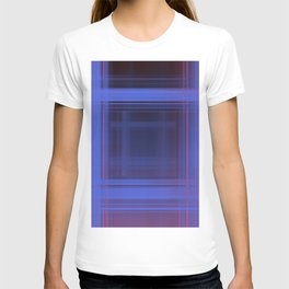 Space Plaid ii T-shirt