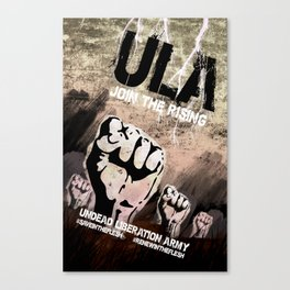 ULA: Join The Rising Canvas Print