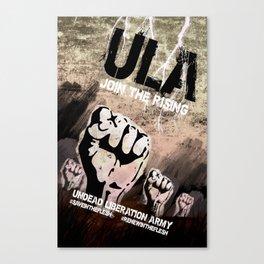 ULA: Join The Rising Canvas Print