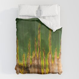 Colors of the Amazonas Duvet Cover