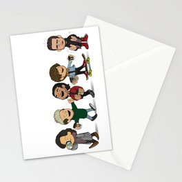 Schulz 1D Coffee Run Stationery Cards