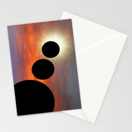 Planetary Alignments Stationery Cards