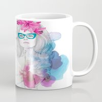 glasses Mugs featuring Glasses by Camis Gray