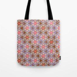 Pink Star Tote Bag