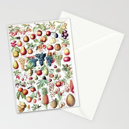 Adolphe Millot - Fruits pour tous - French vintage poster Stationery Cards