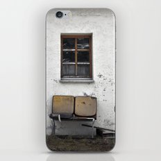 garden furniture... iPhone & iPod Skin