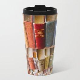 The Colorful Library Metal Travel Mug