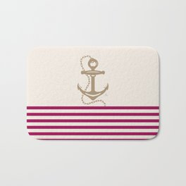 AFE Gold Nautical Anchor Bath Mat