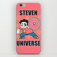 steven universe iPhone & iPod Skins featuring Steven by ZoeStanleyArts