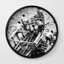 La Décharge Wall Clock