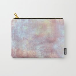 Ethereal Dreamy Watercolor Clouds Pink Blue Nursery Decor Carry-All Pouch