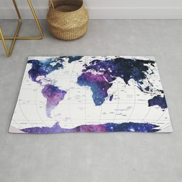 ALLOVER THE WORLD-Galaxy map Rug