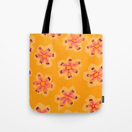 Tangerine Emily Claire Tote Bag