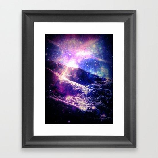 Cosmic Radiance Framed Art Print