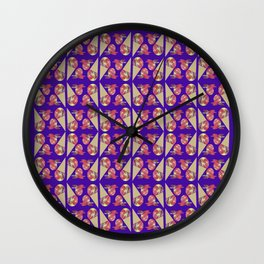 Three Second Rule; Save the Ice Cream Pattern Wall Clock