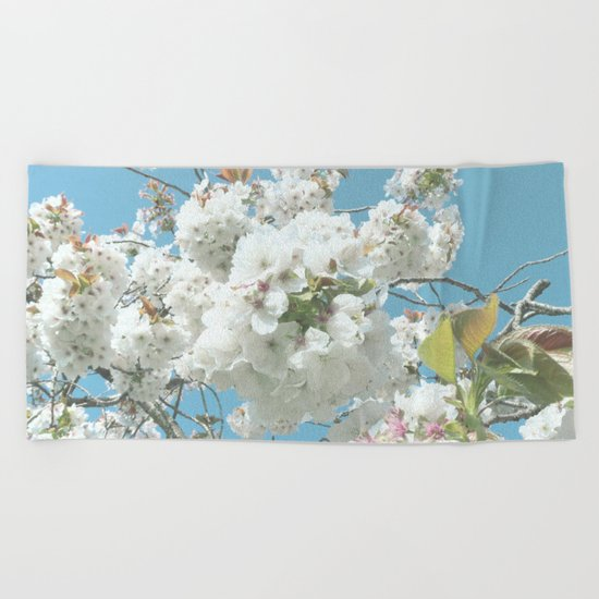 Spring Blooms Beach Towel