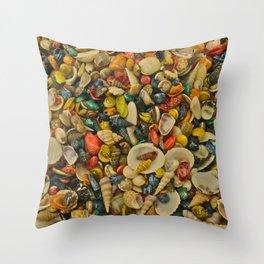 million shells Throw Pillow