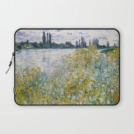 """Claude Monet """"Île aux Fleurs near Vétheuil"""" Laptop Sleeve"""