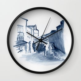 Untitled - mercato Wall Clock