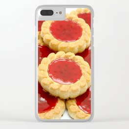 High calorie food Clear iPhone Case