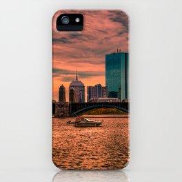 Longfellow Bridge , Boston, Massachusetts iPhone Case