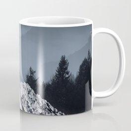FOGGY BLUE MOUNTAINS Coffee Mug