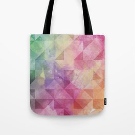 Triangles Pattern Tote Bag