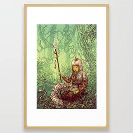 Pastel Pangolin Pals Framed Art Print