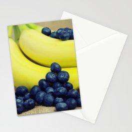 Heidelbeere Bananen - Blueberry Banana Stationery Cards