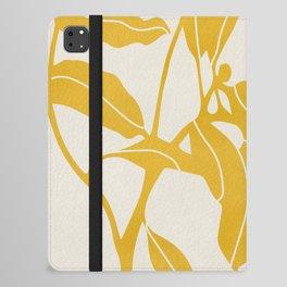 Golden Yellow Leaves #art print#society6 iPad Folio Case