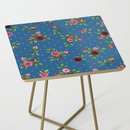 Boho Floral Side Table