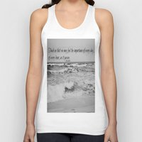 jane austen Tank Tops featuring Jane Austen Every Day by KimberosePhotography
