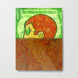 FEDERAL RESERVE SYSTEM Metal Print