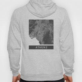 Athens Map ocher Hoody