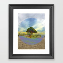 Cross Processed at Runyon Framed Art Print