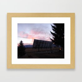 #406 good eve in the southwest 406 Framed Art Print
