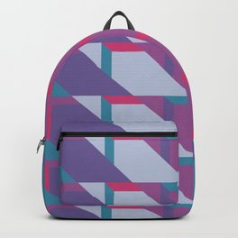 Abstract Drama #society6 #violet #pattern Backpack
