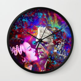 Frankenstein`s Bride Wall Clock