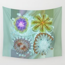 Attitudinal Proportion Flower  ID:16165-113431-66510 Wall Tapestry