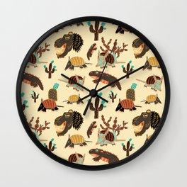 Desert Creatures Wall Clock