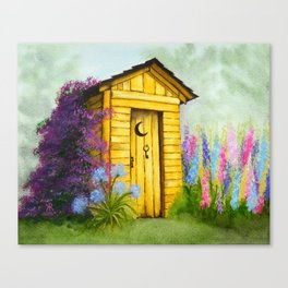 Out in Spring Canvas Print