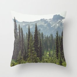 Escape to the Wilds - Nature Photography Throw Pillow