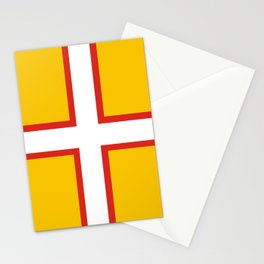 dorset county flag united kingdom great britain Stationery Cards